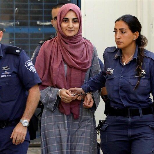 İsrail zindanlarındaki Ebru Özkan mahkemeye prangalı çıkarıldı!