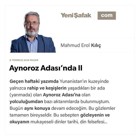Aynoroz Adası'nda II