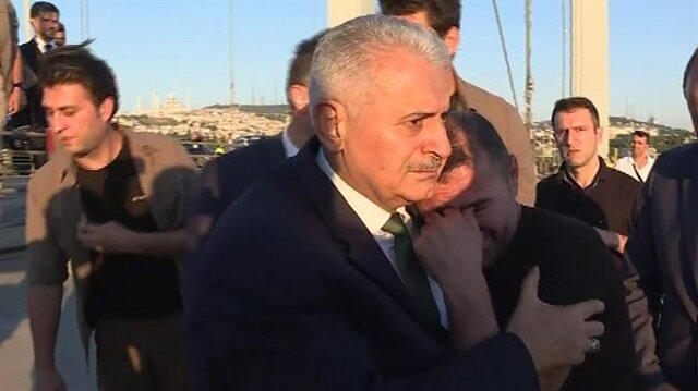 Yıldırım, Haliç Kongre Merkezi'nde düzenlenen Numan Kurtulmuş'un kızının nikah törenine T.T ile birlikte gitti.