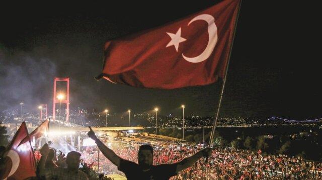 Türkiye 15 Temmuz 2016 tarihinde hain bir işgal girişimine muhatap olmuştu.