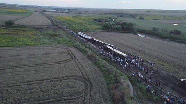 çorludaki Tren Kazası Tekirdağdaki Tren Kazası Son Dakika