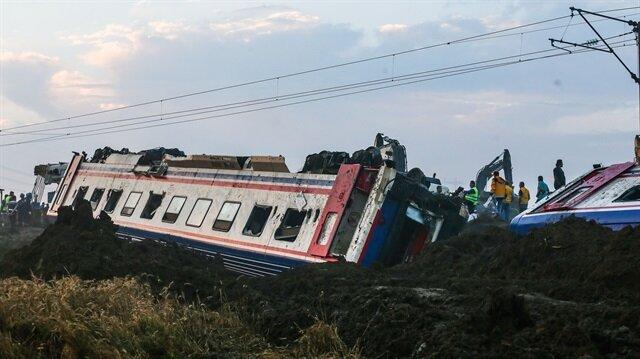 Çorlu'daki tren kazasının boyutu gün ağarınca ortaya çıktı