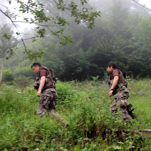 Giresun'da teröristlerle çatışma: 1 asker şehit