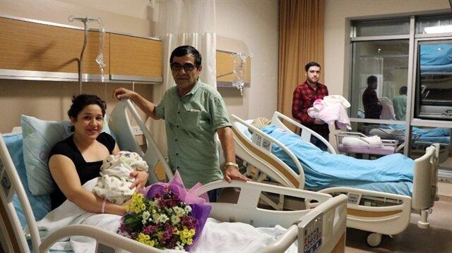 Venezuellalı ile Suriyeli kadın Zonguldak'ta yan yana doğum yaptı