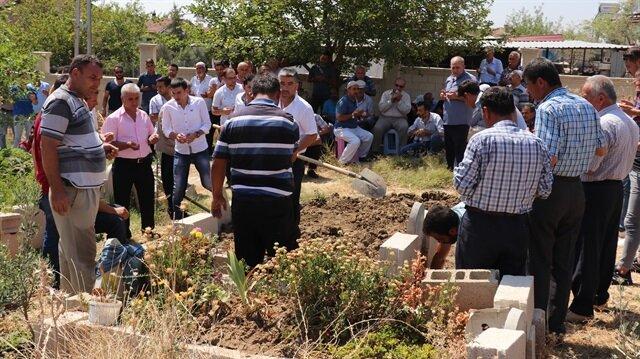 Kaybolan küçük Ufuk'un cansı bedeni 8 gün sonra bulunmuştu.