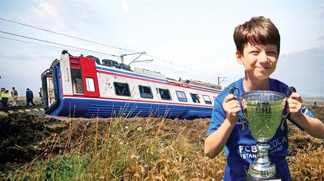 Çorlu'daki tren faciasında bilanço dün ağırlaştı.