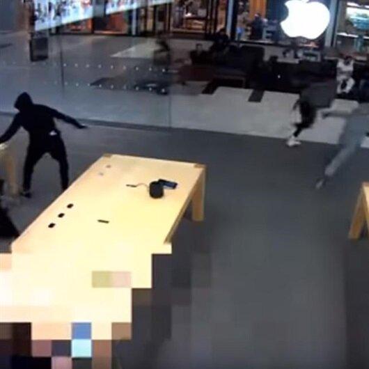 Apple Store'un başı hırsızlarla dertte