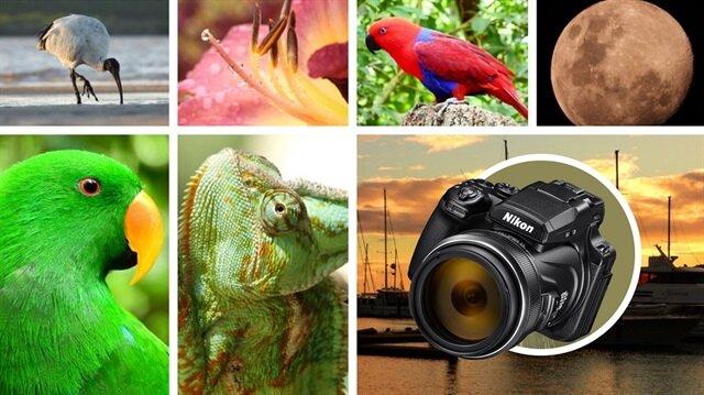 Yeni Nikon P1000 tam 125x optik zoom'a sahip