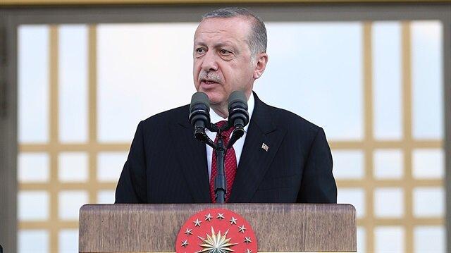 Başkan Erdoğan'dan tarihe geçen söz