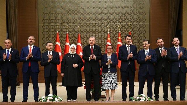 Turkish President Erdogan unveils 16-minister cabinet