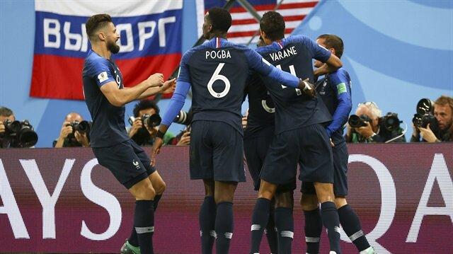 Fransa, kupada ilk finalist oldu.