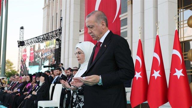 Yükseliş dönemi Başkan Erdoğan'ın duası ile başladı