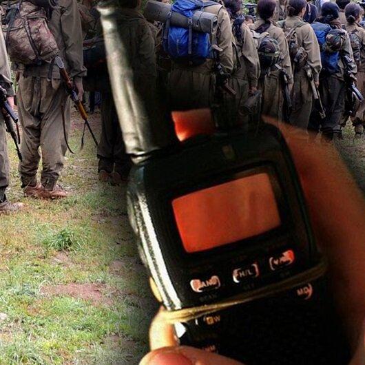 'Süper Kobraları' duyan PKK'lılar telsiz ile yalvardı