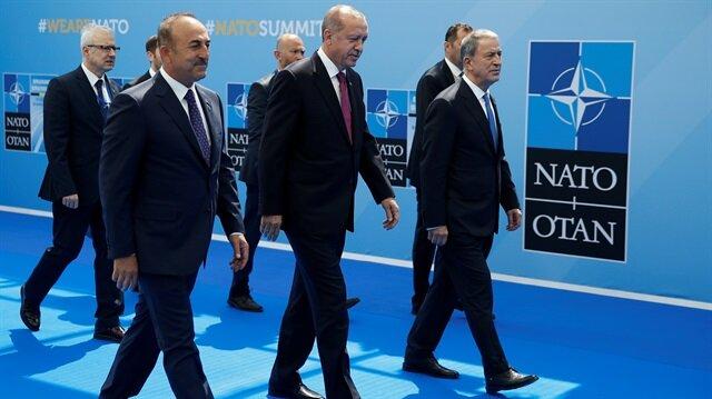 أردوغان يصل بروكسل للمشاركة في قمة زعماء الناتو