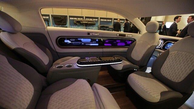 Otonom sürüş simülasyon kabinini Türkiye'de.