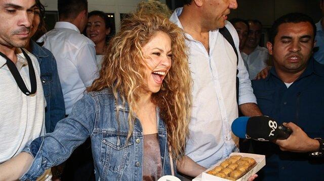 Shakira to hit Istanbul stage tonight