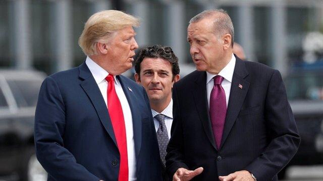 Başkan Erdoğan ve Trump NATO zirvesinde bir araya geldi