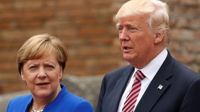 Angela Merkel ve Donald Trump