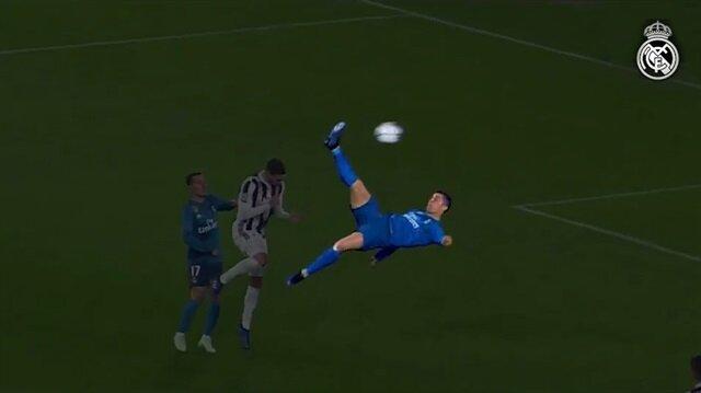 Real Madrid'den Cristiano Ronaldo'ya müthiş veda klibi