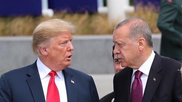 أردوغان يتحدث مع ترامب في بروكسل