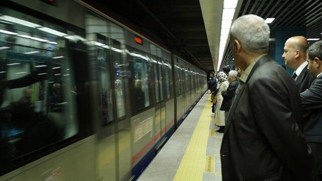 Marmaray ile bugüne kadar 265 milyon yolcu taşındı.
