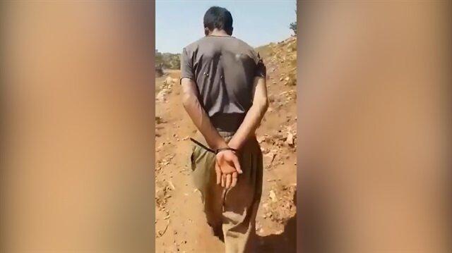 Mehmetçik PKK'lı teröristi böyle paketledi!