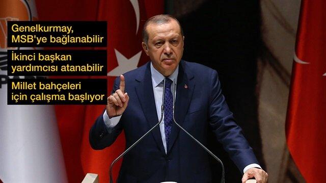 Cumhurbaşkanı Erdoğan, gündeme ilişkin önemli açıklamalar yaptı.