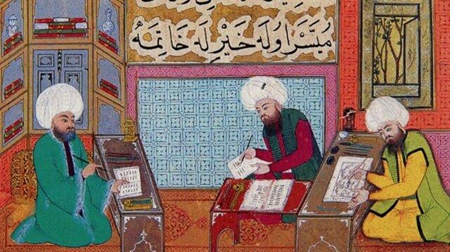 Saraydaki Ehl-i Hiref Teşkilatı ve Kitap üretimine katkıları