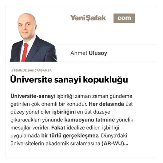 Üniversite sanayi kopukluğu