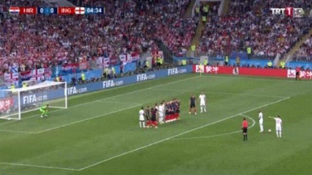 İngiltere Trippier'in golüyle öne geçti