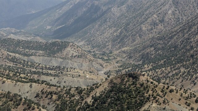 Northern Iraq's Mt. Qandil region