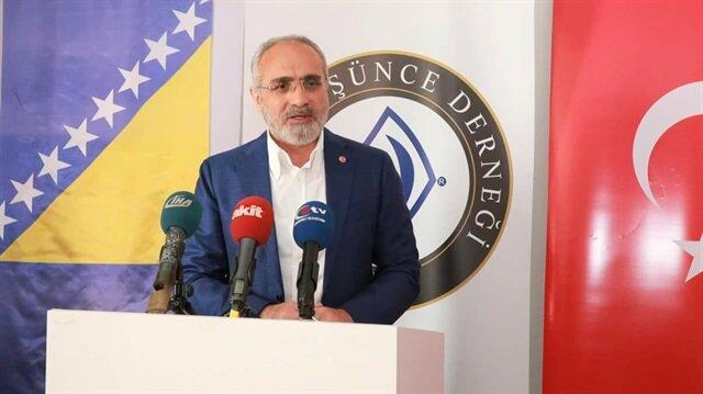 Topçu: Türk milleti mazlumların yanında