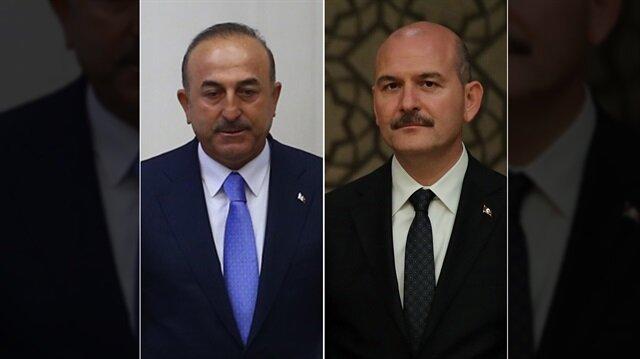 Mevlüt Çavuşoğlu ve Süleyman Soylu