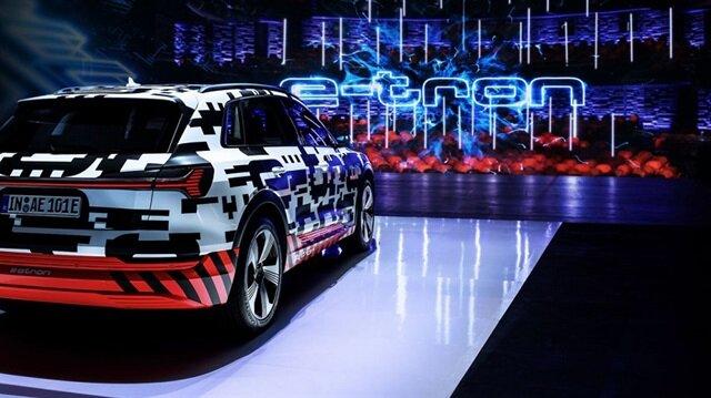 Yeni 2020 Audi E-Tron modeline dair ilk görüntü.