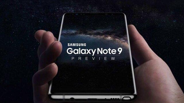 Samsung Galaxy Note 9'un ortaya çıkan resmi görsellerine göre çerçeve Note 8'e göre daha da küçültülmüş.