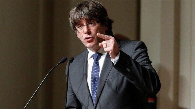Katalonya Özerk Yönetimi eski Başkanı Carles Puigdemont