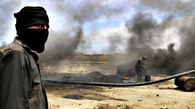 """مصادر: قادة في """"ب ي د/ بي كا كا"""" الإرهابي يسرقون نفط سوريا"""