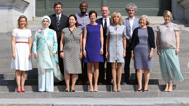 Emine Erdoğan lider eşlerine Rohingya Müslümanlarını anlattı