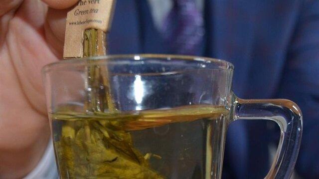 2,5 yapraklı organik yeşil çay