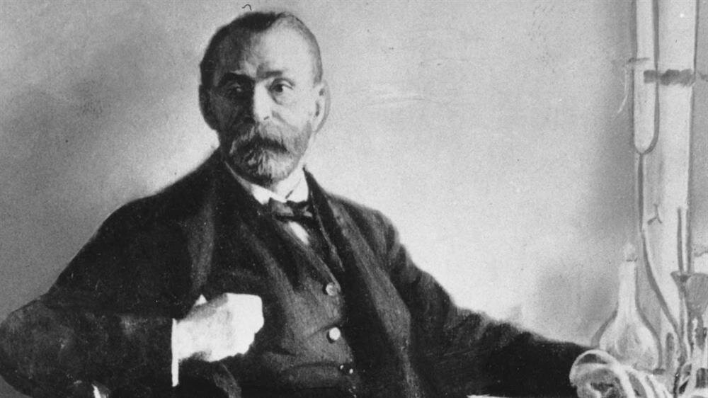 Alfred Nobel 21 Ekim 1833'de Stockolm'de doğdu.