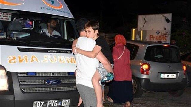 Alanya'da otelde tatil yapan 72 turist hastanelik oldu