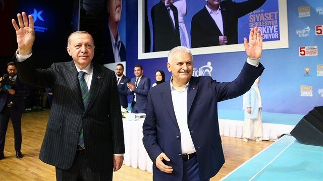 Arşiv: Başkan Recep Tayyip Erdoğan, TBMM Başkanı Binali Yıldırım