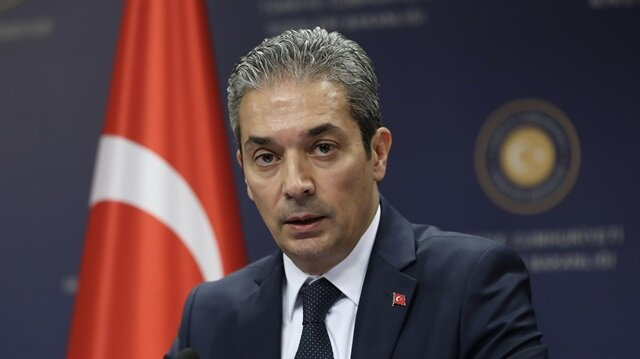 Turkish Foreign Ministry Spokesman Hami Aksoy