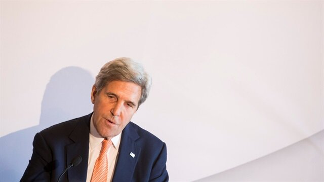 Former U.S. foreign minister John F. Kerry