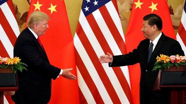 الرئيس الصيني ونظيره الأمريكي في لقاء سابق