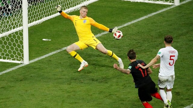 Mandzukic'in Hırvatistan'a finali getiren golü.