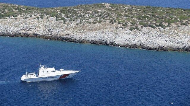 Adada mahsur kalan göçmenler için kurtarma operasyonu düzenlendi.