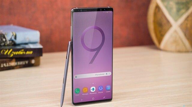 Samsung Note 9'un sızan görseli.