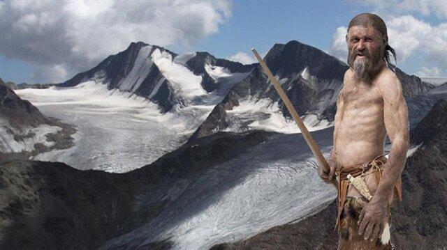5 bin 300 yıl önce yaşamış buz adam Ötzi'nin son yediği yemekte dağ keçisi yağı, kırmızı geyik eti, tarih öncesi zamanda yetişen bir tür tahıl ve zehirli eğreti otu tespit edildi.
