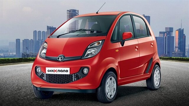 2 silindirli 624 cc motoru bulunan Tata Nano, saatte 105 kilometre maksimum hıza ulaşabiliyor.